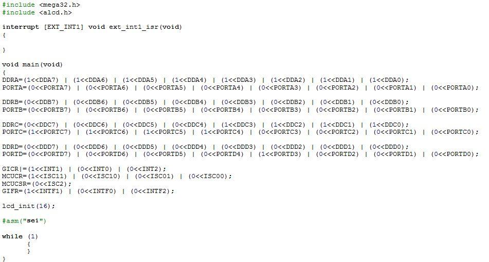 سورس کد source cod اینتراپت interrupt